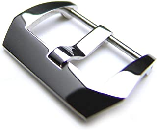 Strapcode Watch Strap Buckle 22mm or 24mm Pre-V Screw In Buckle to fit PANERAI