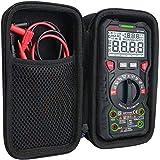 AKDSteel Bolsa de almacenamiento para multímetro digital KAI-WEETS TRMS 6000 contabilidades medidor de voltios auto rango accesorios electrónicos especiales