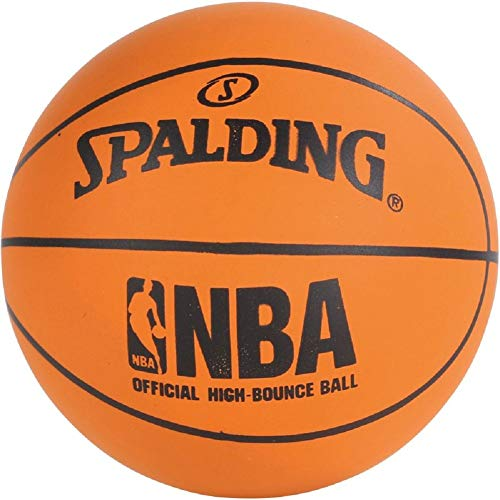 Spalding Spaldeens High Bounce - Mini pallone da basket in gomma, taglia unica, colore: Arancione