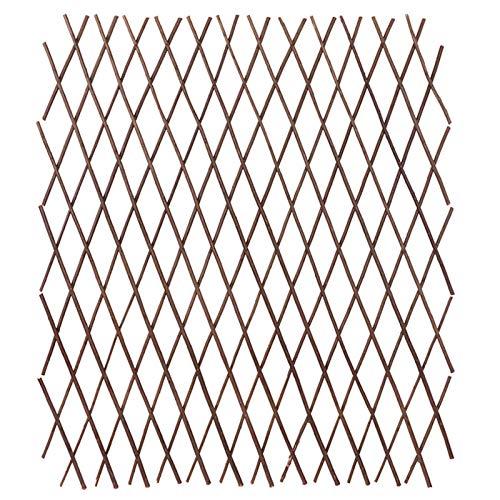 Holz Rankzaun Rankgitter Scherengitter Rankhilfe Spalier Holzgitter,Die Größe kann nach Belieben angepasst werden(200 * 28cm)