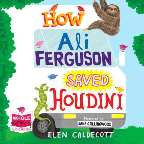 How Ali Ferguson Saved Houdini cover art