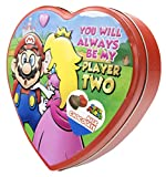 Frankford Candy Company Super Mario Gift Heart Tin/Milk Chocolate, 3.6 Ounce (Pack of 6)