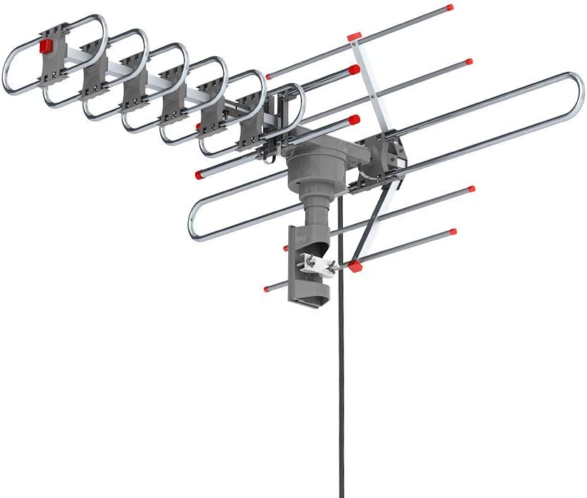 TV Antenna Motorized Amplified HDTV 1080P Max 68% OFF Sales of SALE items from new works 980 360° Mi Ratator 4K