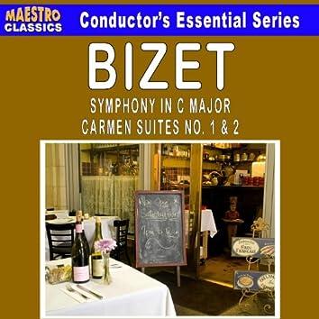 Bizet: Symphony in C Major - Carmen Suites No. 1 & 2