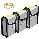 Flycoo LiPo Bag Bolsa de Seguridad ignífuga Baterías Safe Guard para dji dji Phantom 3 4 4Pro 4Pro + Baterías (3 Piezas)