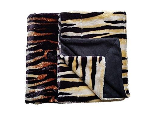 Trend Company Blanket Cuddly Blanket Bedspread Throw Blanket 150 X 200 Cm Washable At 30 C Tiger 150 X 200 Cm
