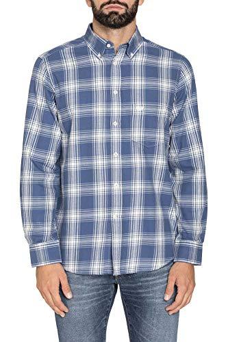 Carrera Jeans - Camicia per Uomo, Fantasia a Quadri, Tessuto in Flanella (EU 3XL)