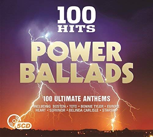 100 Hits: Power Ballads / Various