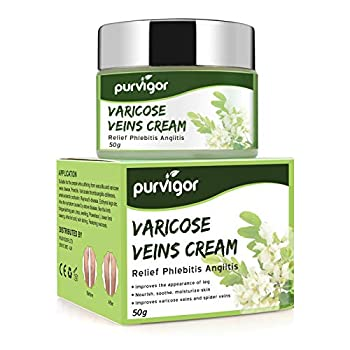 Varicose Veins Cream Varicose Vein & Soothing Leg Cream,Natural Varicose & Spider Veins Treatment,Improve Blood Circulation Tired and Heavy Legs Fast Relief(1.8 oz)