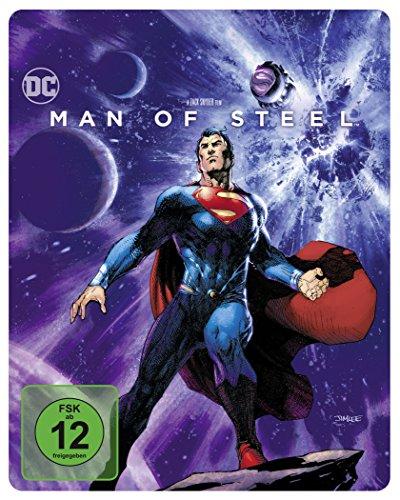 Man of Steel als Steelbook mit Illustrated Artwork (Limited Edition exklusiv bei Amazon.de) [Blu-ray]
