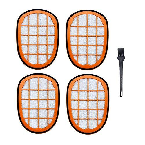 Style wei Accesorios para Aspiradora 5pcs Accesorios Aspirador de Filtro for Philips FC6822 FC6823 FC6827 FC6908 FC6906 FC6904 Limpiador de Partes Vacuum