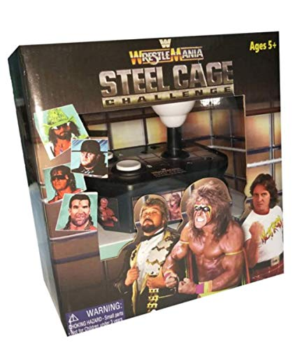 WrestleMania Steel Cage Challenge Plug n Play Video Game