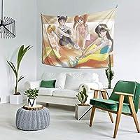 自然風景 きまぐれオレンジロード.Jpeg 多機能 タペストリー インテリア 壁掛け おしゃれ 室内装飾タペストリー カバー カーテン ウォールアート 布ポスター カーテン カスタマイズ可能
