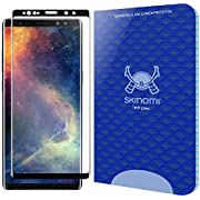 Skinomi TechGlass [1-Pack] [3D Glass - Black] Screen Protector for Samsung Galaxy Note 9 (Easy Install)(Alignment Frame Included)