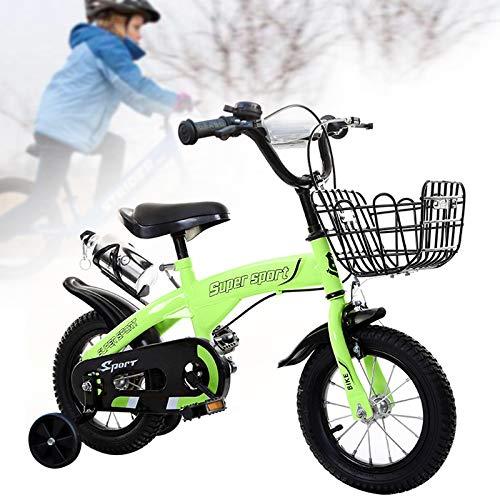 Newpin Chtes kinderfiets voor meisjes en jongens vanaf 3, 4, 5, 6 jaar, uitgerust met een ergonomische zitting, veiligheidshandvatten, stille wielen en stootvaste poedercoating.