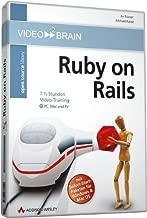 Ruby on Rails, 1 DVD-ROM/-Video7 1/2 Stunden Video-Training. Für Windows 98/XP/2000, MacOS X 10.1 bzw. TV mit DVD-Player