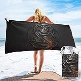 Cobra Kai Karate Beach Towels Camping Towel Highly Absorbent...