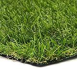 sti prato sintetico 20mm finta erba tappeto manto giardino 4 sfumature colore 1x5mt