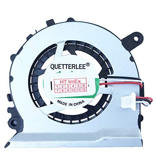 Lüfter/Kühler Fan kompatibel mit Samsung NP535U3C, NP532U3C, NP530U3B, NP530U3C, Model: DFS451205M10T-FCA8, DC5V-0.4A, P/N: BA31-00125C