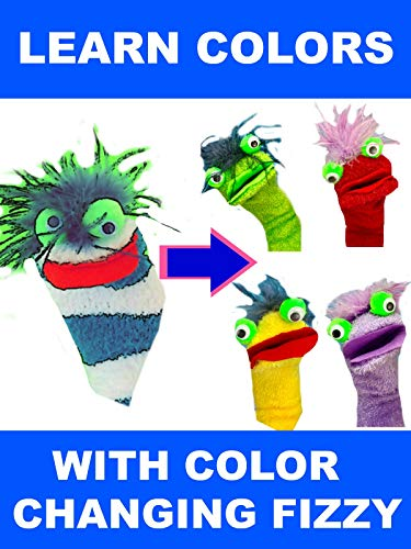 Learn Colors with Color Changing Fizzy - Fizzy Toy Show