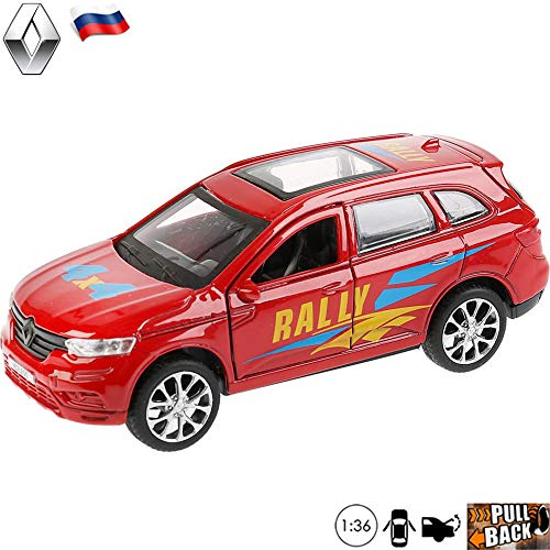 1:36 Scale Diecast Metal Model Compact Crossover SUV Renault Koleos Sport Russian Die-cast Toy Cars -  Russian Toys, 4433278