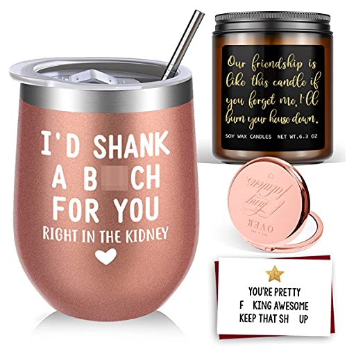 Birthday Gifts for Women Best Friends, Friendship Gifts for Women BFF...