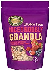 A delicious 3-strong range of rolled oats, scrumptious fruits and nuts Contains blueberries, raspberries, strawberries and yogurt chunks A lavish sprinkle of organic care and attention Healthy range of granolas it is ridiculously nice and nobly
