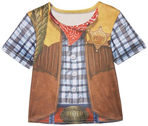 Rubies – I-630863S – T-shirt Sublimation Cowboy jongens L