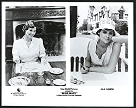 MOVIE PHOTO: MISS MARY-8X10 B&W PHOTO-JULIE CHRISTIE AS GOVERNESS FN