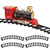 Hot Bee 4 Pcs Train Tracks Accessories Curved Train Track Railroad...