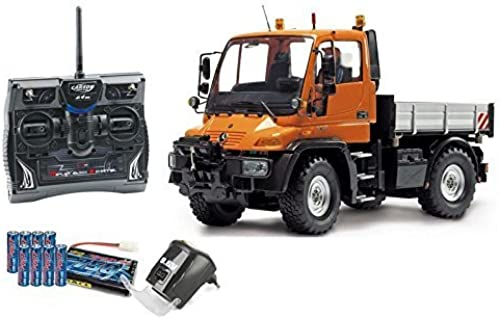 Carson 01 12 Functional model Mercedes Benz Unimog U300 with remote control (500907170) by Carson
