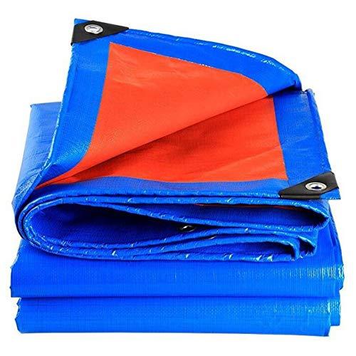 YCSD Lona Impermeable Hoja De Protección Cubierta A Prueba De Lluvia para El Jardín Al Aire Libre PE 180 G/M²(Size:4x6m)