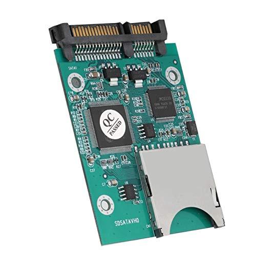 Adaptador SD SATA Convertidor Adaptador de Disco Duro Tarjeta de Memoria Segura y Estable al convertidor de Adaptador SATA Conveniente fábrica para la Industria Oficina en el hogar