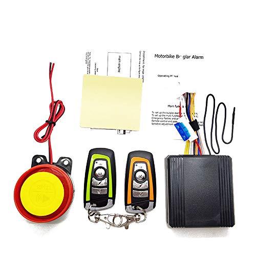 Sistema di allarme universale per moto 12V Motorino di sicurezza Sistema antifurto per allarme...