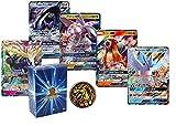 5 Legendary GX Ultra Rare Pokemon Cards   NO Duplicates   1 Random Pokemon Coin   100% Authentic Value Bundle   GG Box Assorted Pokemon Trading Card Lot & Bonus Coin