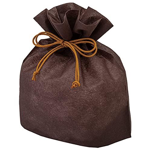 巾着袋 (和菓子・贈答用) 横140×縦255×ガゼット110mm(内寸 横140×縦185×ガゼット110mm) 20枚