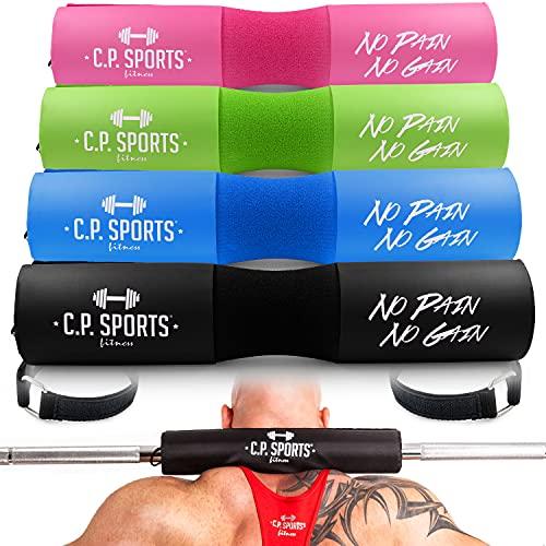 C.P. Sports Nackenpolster – Nackenschutz für Langhantel Hantelstange – für Weightlifting, Bodybuilding, Fitness & Kraftsport – Durchmesser 10 cm – blau – 1 Stück