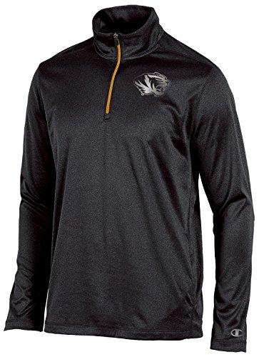 Men's Quarter Zip Black Jackets