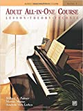 [By Willard A. Palmer] Adult All-In-One Course: Lesson-Theory-Technic: Level 1-[Plastic Comb] Best selling book for  Pianos 
