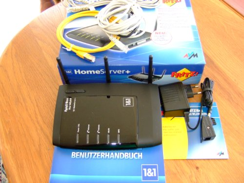 Fritz!Box Fon WLAN 7270 V3 1und1 Edition HomeServer+