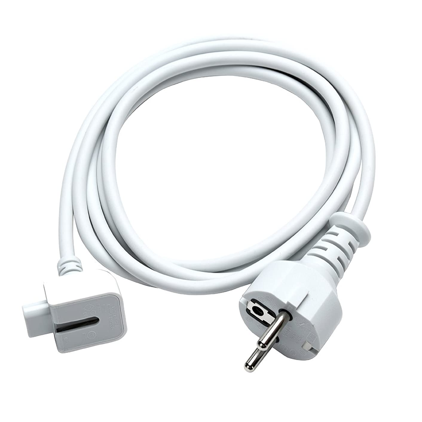 WESAPPINC Replacement Extension Power Cord European Standard Plug 6 Feet Cable for Apple MacBook 45W 60W 85W Magsafe or Magsafe 2 Power Adapter