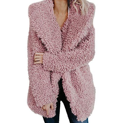Luoluoluo kunstmatige wollen jas dames winterjas fleece jacks meisje warm winterjas vrouwen jassen met capuchon