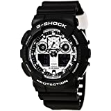 Casio G-Shock GA-100BW-1A White and Black...