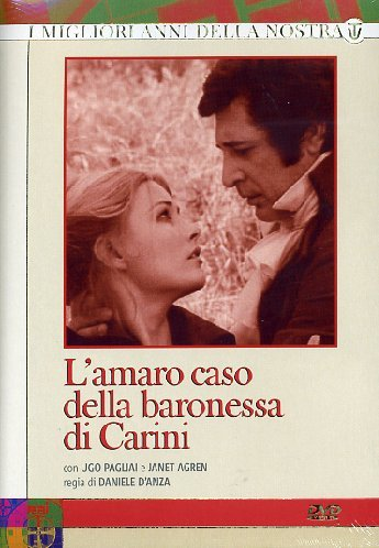 L'Amaro Caso Della Baronessa Di Carini (Box 4 Dvd)