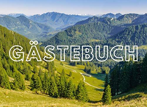 Gästebuch: Für Ferienhaus, Bed and Breakfast, Pension, Ferienwohnung und Hotel | Berge Design |...