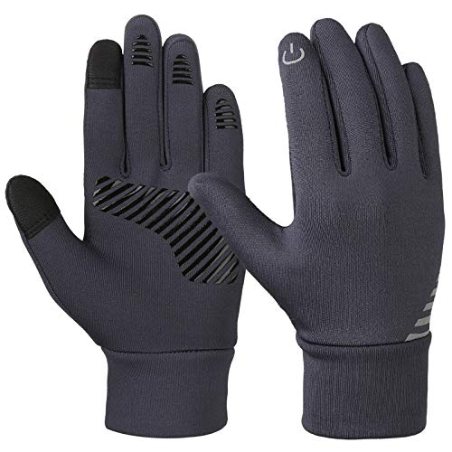 VBIGER Kids Winter Gloves Boys Girls Touchscreen Gloves Fleece Sports Gloves Bike Gloves for Children 4-10 Years