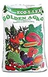 acquaverde concime bio stallatico agristallatico bioconcime Adatto per ulivi Frutti Piante grasse Piante da Giardino Confezione da 20 kg Golden Agro