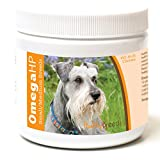 Healthy Breeds Omega 3 for Dogs for Miniature Schnauzer - Over 100...