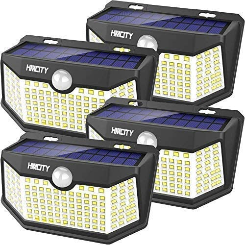 Solar Lights Outdoor 120 LED with Lights Reflector and 3 Lighting Modes Solar Motion Sensor product image