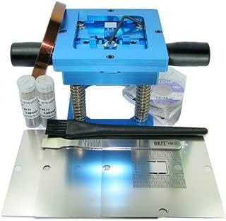 LarcoLais 90mm BGA Reball Station for PS3 GPU CPU CXR714120 Stencil Rework Reballing Repair Kts